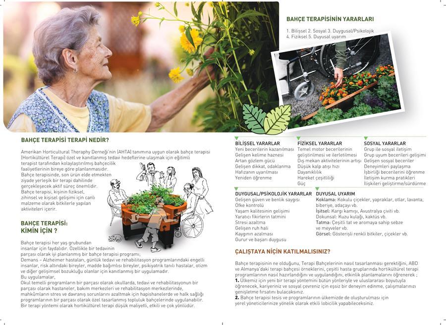 Bahçe Terapisi ve Yerel Yönetimler Çalıştayı