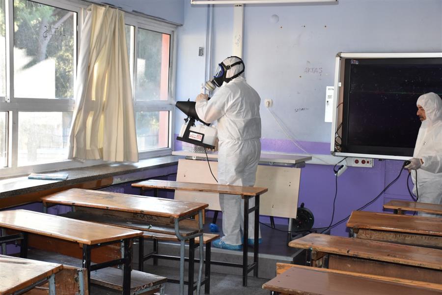 Menemen'de Koronavirüs için harekete geçildi