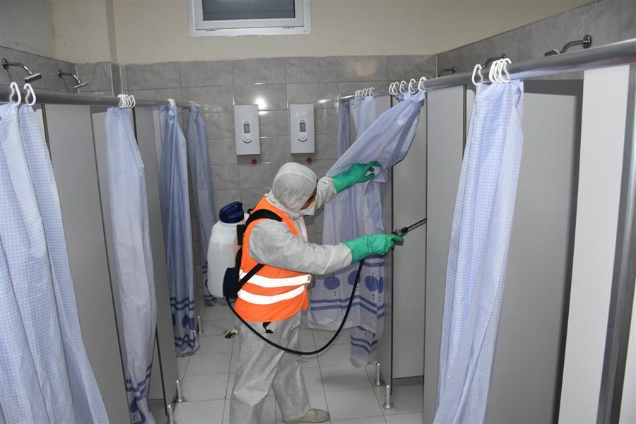 Menemen Belediyesi'nin koronavirüs seferberliği devam ediyor