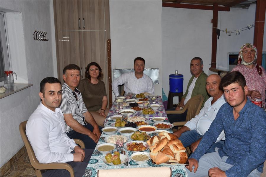 Başkan Aksoy'dan Ramazan ziyaretleri