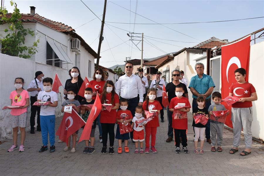 Menemen 19 Mayıs'ı coşkuyla kutladı